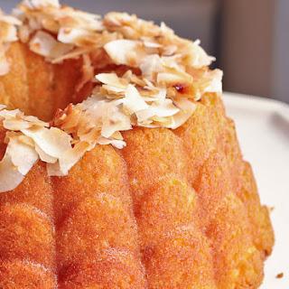 Coconut Oil Pound Cake.
