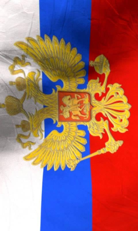 Russia flag free livewallpaper - screenshot