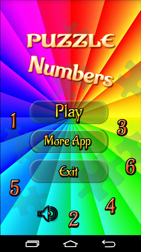 Puzzle Numbers for Kids