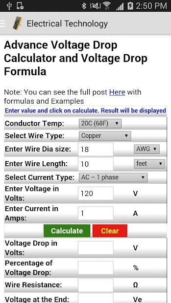 Wire size for voltage drop calculator image collections wiring wire size calculator voltage drop image collections wiring table wire size calculator voltage drop image collections keyboard keysfo Gallery