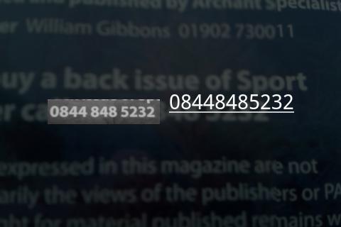 Number Scanner- screenshot