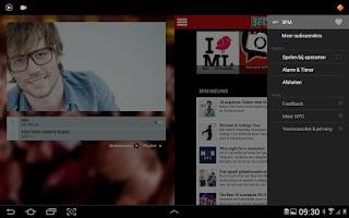 Screenshot of NPO 3FM