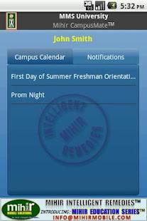 Mihir CampusMate™ - screenshot thumbnail