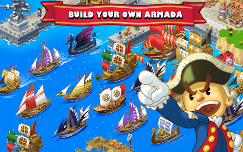 Game Pirate Frontier: Epic Sea Wars APK for Windows Phone