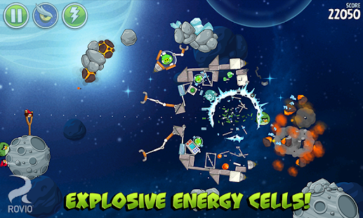 Angry Birds Space Premium Screenshot 24