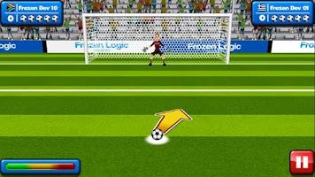 Screenshot of Soccer Penalty Kicks