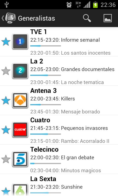 Guia TV - screenshot