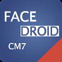 Facedroid CM7 logo