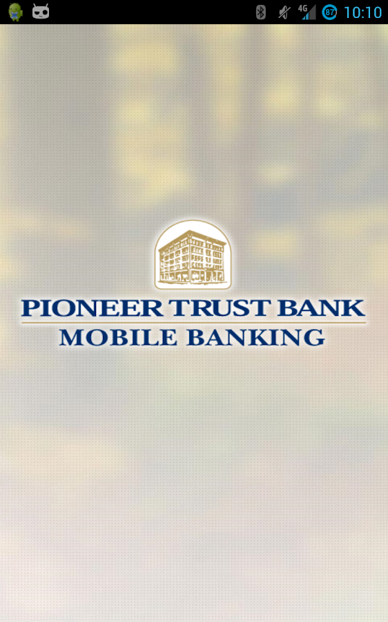 Pioneer Trust Bank Mobile Bank - screenshot