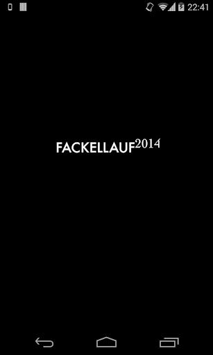 Fackellauf 2014