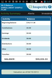 Insperity Retirement screenshot
