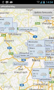 aWeatherMap - screenshot thumbnail