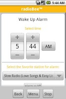 Screenshot of radioBee Pro - radio app
