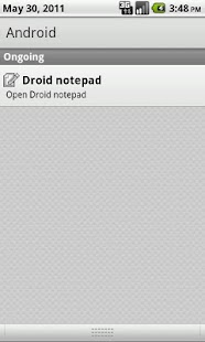 Droid Notepad- screenshot thumbnail