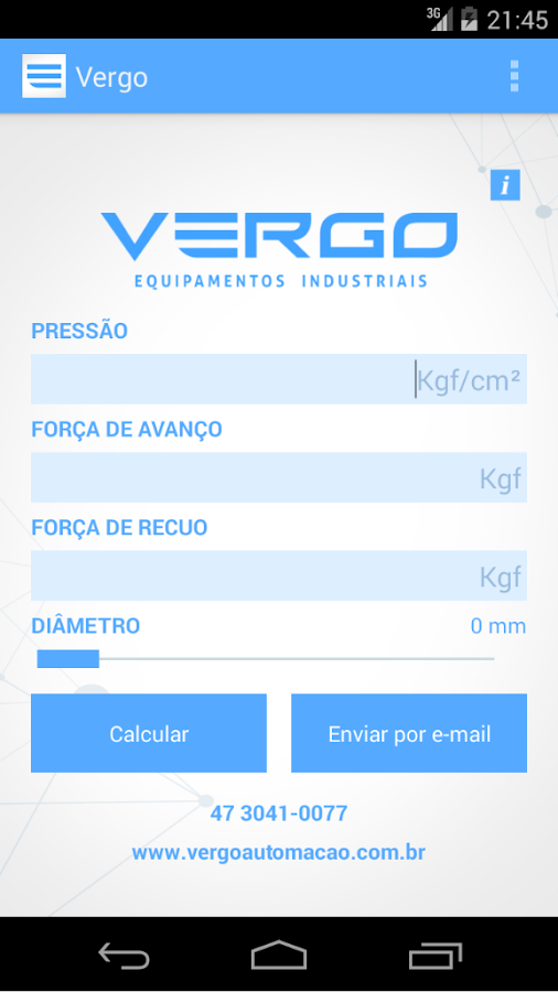 Vergo- screenshot