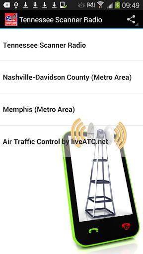 Scanner Radio Tennessee FREE