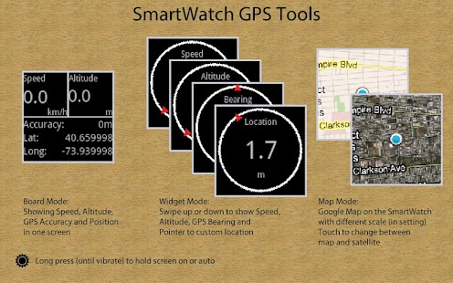 SmartWatch GPS Tools - screenshot thumbnail