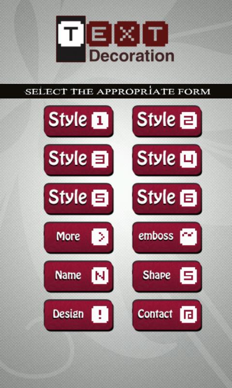 Text Style - screenshot