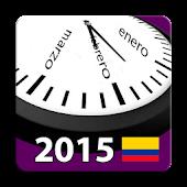 Calendario 2015 Colombia