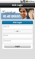 Screenshot of AUA Member Search
