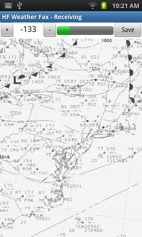 HF Weather Fax- screenshot