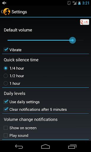 Easy Silencer - Ringer volume  screenshots 5