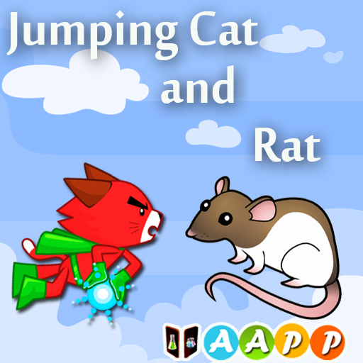 Jumping Cat and Rat