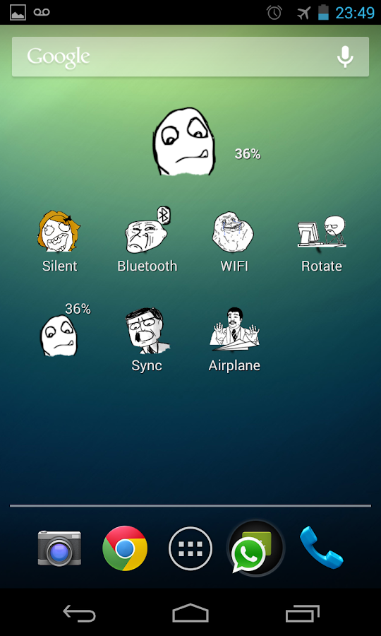The Meme Widgets- screenshot