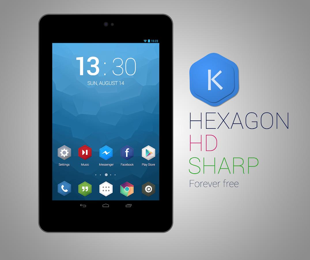 Kutbay - Hexagon Icon Pack - screenshot