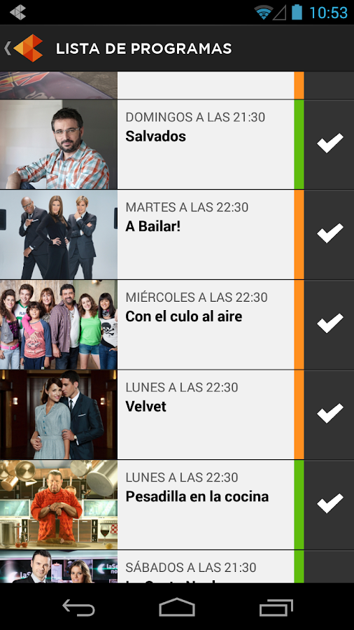 Atresmedia Conecta- screenshot