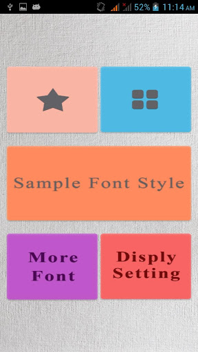 Famous Fonts for S3