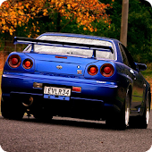 Nissan Skyline Live Wallpaper