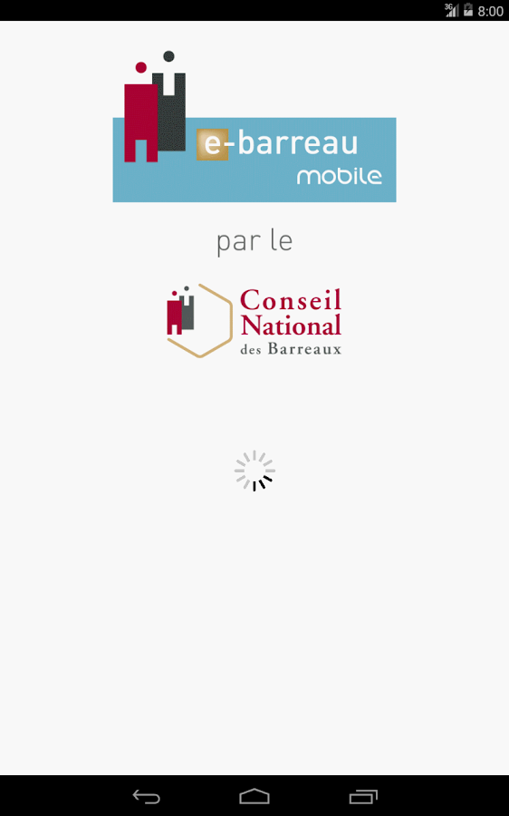 e-Barreau Mobile- screenshot