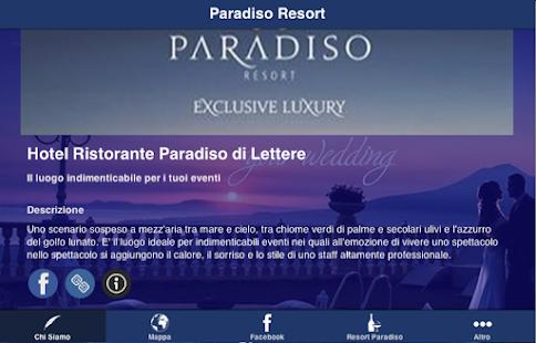 Resort Paradiso Lettere- screenshot thumbnail