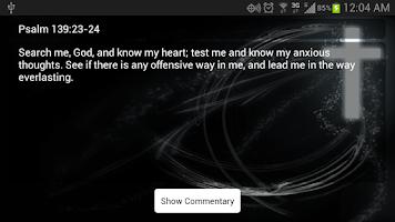 Screenshot of Verse-A-Day Bible Verses Free