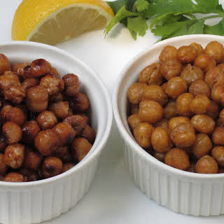 Roasted Chick Peas Two Ways.