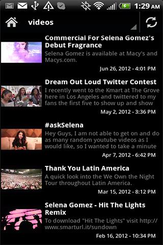 Selena Gomez Videos Music News - screenshot