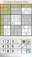 Screenshot of Sudoku Trainer Free