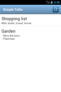Simple ToDo Free- screenshot thumbnail