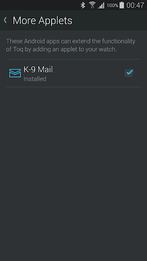 K-9 Mail for Toq