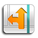 Orange Maps icon
