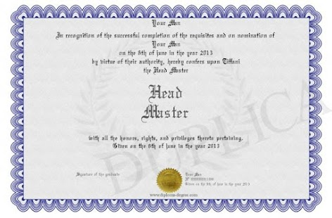 My certificate - screenshot thumbnail