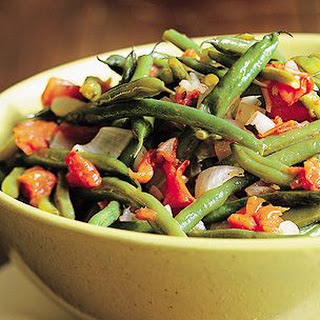 Green Beans and Onions