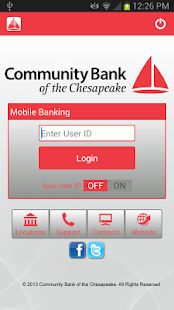 CBTC Mobile Banking - screenshot thumbnail
