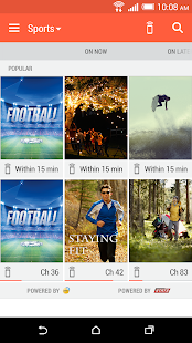HTC Sense TV - screenshot thumbnail