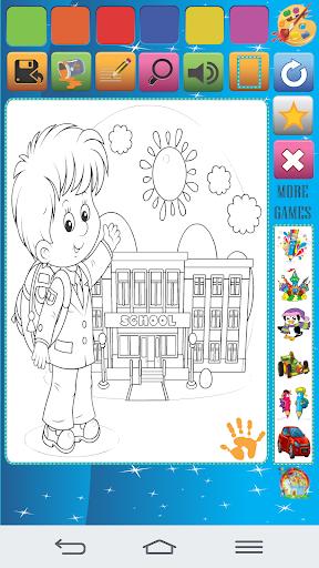 School Kid Coloring Book 400 Screenshots 4