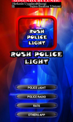 Rush Police Light Voices