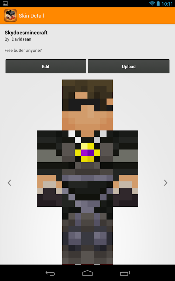 Minecraft Skin Studio - screenshot