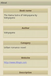 The Kama Sutra of Vatsyayana - screenshot thumbnail