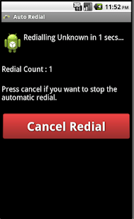 Auto Redial - screenshot thumbnail